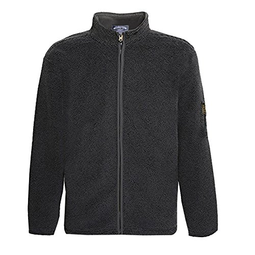 hommes-kensington-eastside-hamish-doublure-polaire-jacquard-tricot-fermeture-eclair-veste-chaude-noi