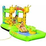 Friedola 14068 - Castello gonfiabile con piscina e giraffe