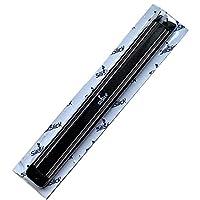silislick portacoltelli magnetico porta innovazione salvaspazio per la tua cucina e casa. Dispone di due potenti magneti che supportano fino a 8chili (7,7kilogram). silislick cremagliera magnetica è larga 3,8cm e lunga 30,2cm il silislick...