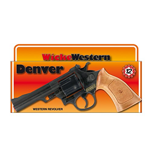 NEU Cowboy-Pistole Denver, 12-Schuss-Colt