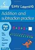 Addition and Subtraction: Ages 5-7 (Collins Easy Learning Age 5-7)