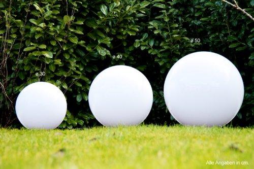 Set sfere luminose globi da esterno illuminazione da giardino