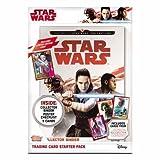 Topps Star Wars Reise zum letzten Jedi Trading Karten Starter Pack Album Mit Limitierter Auflage