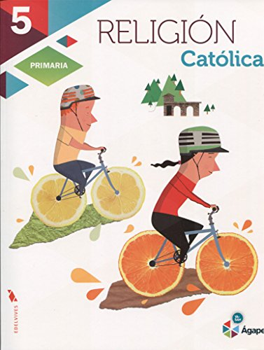 Religión Católica 5º Primaria (Ágape) - 9788426398710