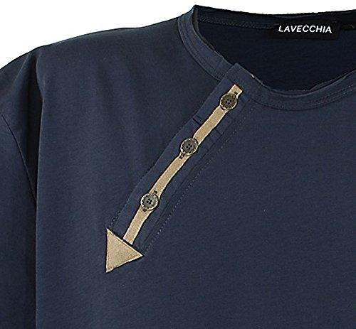 LV 116 Anthrazit T-Shirt Herren Übergröße Lavecchia Gr.3-8 XL Anthrazit