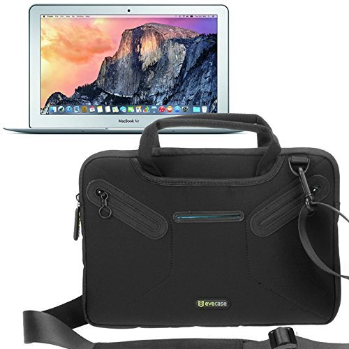 Evecase Borsa a tracolla Custodia Apple MacBook Air 11,6 Laptop