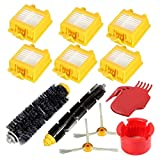 Coco 12PCS/Set Replacement Parts for iRobot Roomba 700 Series Vacuum Cleaner Filter Flexible Beater Side Brush