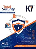 #4: K7 Total Security 2017 New Slim Pack 1Pc 1 Year 1 Instalation CD, 1 Serial Keys 1Year Validity) Free Money Purse