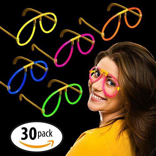 """Preisvergleich Produktbild Milliard 50 Anzahl 20cm (8"""") Nicht toxisch fluoreszierend Party Leuchtende Brillen Verschiedene Farben(Glowsticks)"""