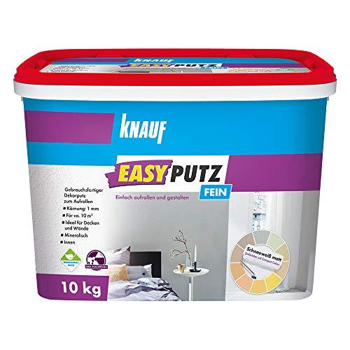 Knauf 89134 Easyputz, Weiß, 10 kg, 1 mm