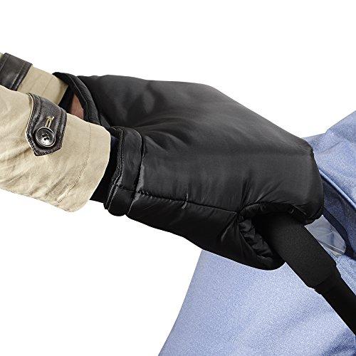 Viciviya Kinderwagen Handwärmer,Handmuff für Kinderwagen,Frost Pram Handschuhe,Weich und Warm,Winterschutz Wasserdichte