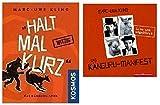 NN. Halt mal kurz & Das Känguru Manifest 4 CD's von Marc Uwe Kling