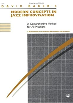Modern Concepts in Jazz Improvisation par [Baker, David]