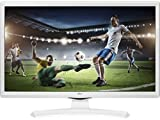 LG 24MT49VW-WZ 24' HD White LED TV - LED TVs (61 cm (24'), 1366 x 768 pixels, HD, LED, 200 Hz, White)