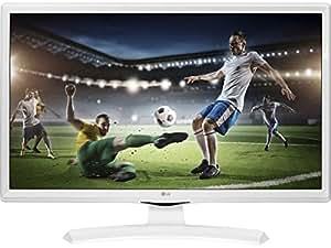 """LG 24MT49VW-WZ 24"""" HD White LED TV - LED TVs (61 cm (24""""), 1366 x 768 pixels, HD, LED, 200 Hz, White)"""