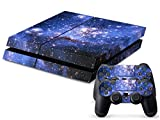 AUDEW Night Sky Protective Skin Cover Sticker for Sony PS4