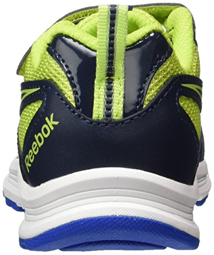 Reebok Bd4045, Sneakers trail-running garçon Multicolore (Collegiate Navy/Awesome Blue/Kiwi)