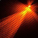 Lamptron 3mm brillant Ultra LED avec câble - orange