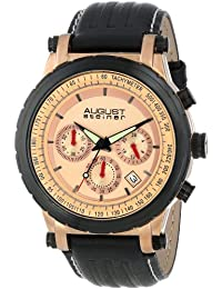 August Steiner Reloj de cuarzo Man AS8085RG 44 mm