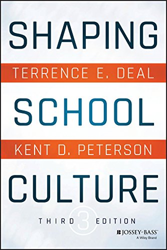 Shaping School Culture Ebook Terrence E Deal Kent D Peterson