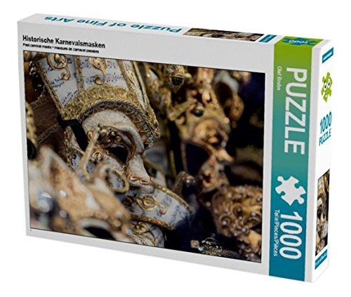 Preisvergleich Produktbild Historische Karnevalsmasken 1000 Teile Puzzle quer (CALVENDO Orte)