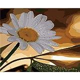DAMENGXIANG DIY Hand Gemalt Digitale Öl Malerei Schöne Blume Landschaft Moderne Abstrakte Kunst Bilder Für Wohnzimmer Home Decor