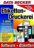 Etiketten- Druckerei. CD- ROM