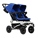 Mountain Buggy Cochecito doble Costa a costa con 4 ruedas
