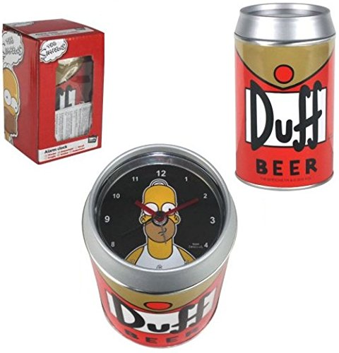 Foto de Despertador Canette cerveza Duff The Simpsons