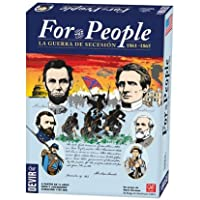 Devir For the people : La guerre de sécession 1861 – 1865, Jeu de Cartes (bg4people)
