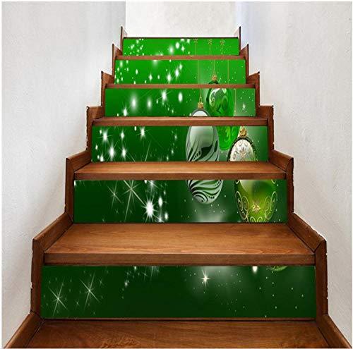 Wasserfall Wandtattoo Treppen 3D Vinyl Wasserdichte Treppe Aufkleber Wohnkultur ()