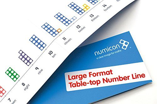 Numicon: Large Format Table Top Number Line por Oxford University Press