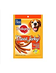Pedigree Dog Treats Meat Jerky Stix, Smoked Salmon, 60 g Pouch