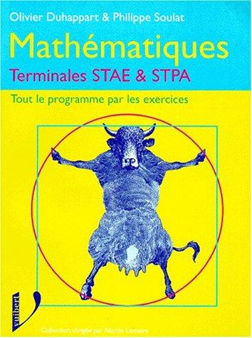Mathématiques terminales STAE - STPA