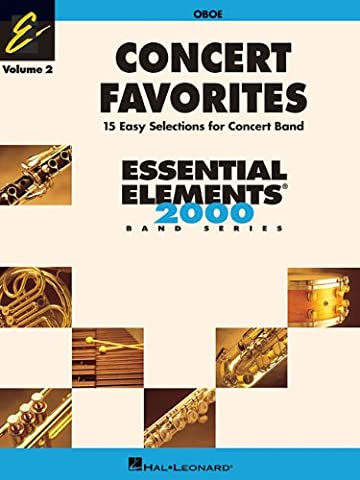 Concert Favorites Vol. 2 - Oboe: Essential Elements 2000 Band Series