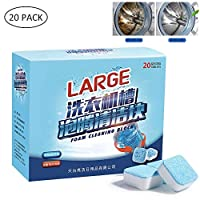 Washing Machine Cleaner, Hamkaw 300g Professional Deep Cleaner Effervescent Tablets For Washing Machine