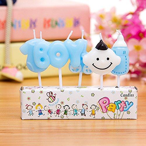 oon Geburtstag Kuchen Dekoration Kerzen, süßem Kerzen 5x (Minecraft-geburtstags-kuchen)