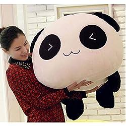 """MS 21,627,5"""""""" kawaii encantador expresión dormir Stuffed Animal Oso Panda de peluche grande juguetes almohadas (55cm/21,6, """"Cute Smiling)"""