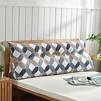 Cojines en forma de cuña, almohada para sofá y cama, respaldo suave y cómodo, de microfibra lavable, poliéster, 2, 90 cm