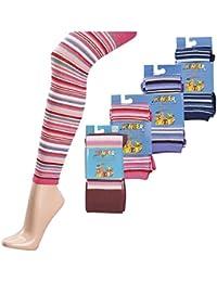 Kinder-Strick-Leggings/Ringel, Farbe:Jeans, Größe:110/116