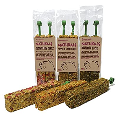 Rosewood Naturals Carrot and Fennel Sticks Treat 120 g by Rosewood Pet Products