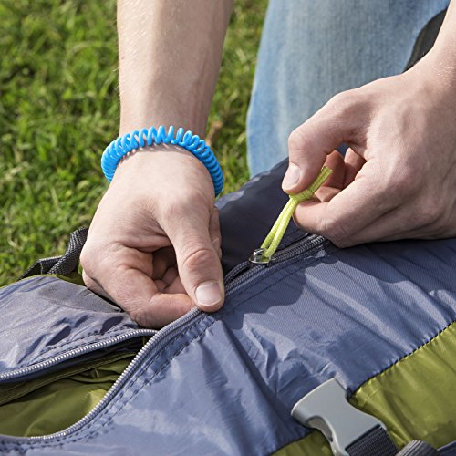 51FSAERpq1L. SS500  - TravPack® Mosquito Bands (x10) - Natural Insect Repellent, Designed To Repel All Types of Mosquito, Midge & Other Flying Insects - Each Mosquito Repellent Bracelet Protects You For Up To 250 Hours!