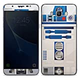 Samsung Galaxy J7 (2016) Folie Skin Sticker aus Vinyl-Folie Aufkleber Star Wars Merchandise Fanartikel R2D2
