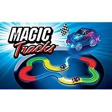 BestofTv Magic Track–Circuito luminoso–3,35metros, modulable y brillante en el negro–Vu a la télé