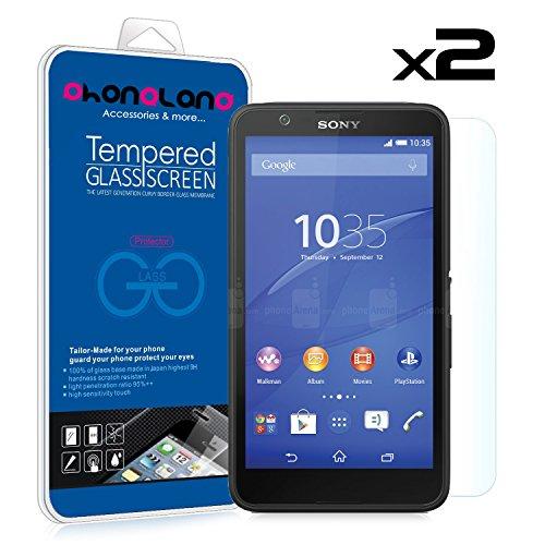 PHONELAND Pack 2 Protector Pantalla de Cristal Templado Premium para Sony Xperia Z5 Premium