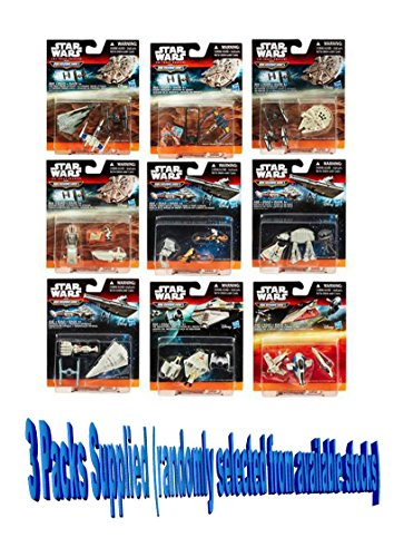 3-packs-of-star-wars-micro-machines-vehicles-3-packs