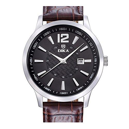 Business casual Uhren/Wasserdichte Quarz-Uhren/Student Mode Schüssel Form-E (Schüssel Moda)