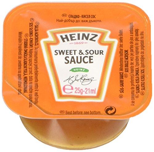 Heinz Salsa Sweet & Sour Dip Pot - Confezione da 100 Pezzi