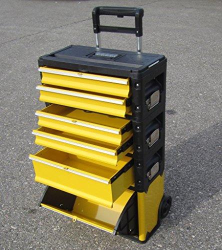 METALL Werkzeugtrolley Werkzeugkasten Werkstattwagen XXL Type 305/BBCD von AS-S - 7
