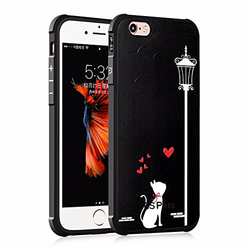 UKDANDANWEI Apple iPhone 6s [QKS] TPU Souple Housse de Protection Case Téléphone Pour Apple iPhone 6s - Style(09) Style(10)